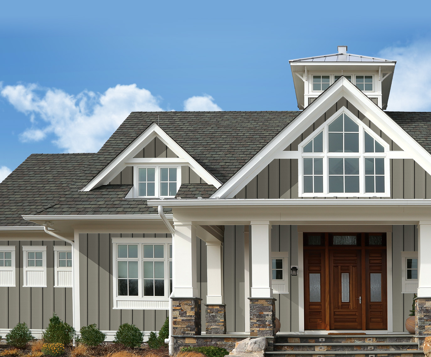 Vertical Siding Design Options Royal Building Products