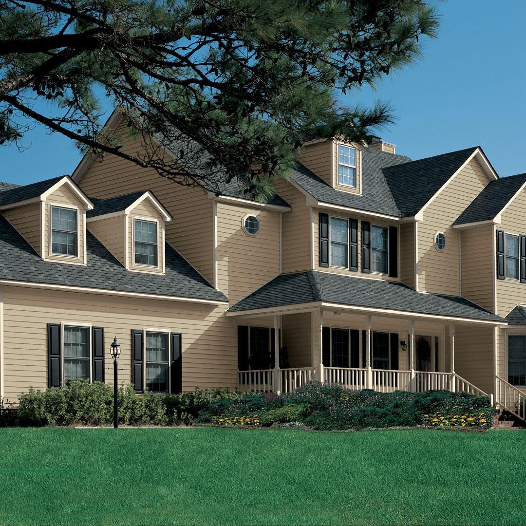 residential siding vinyl home exterior